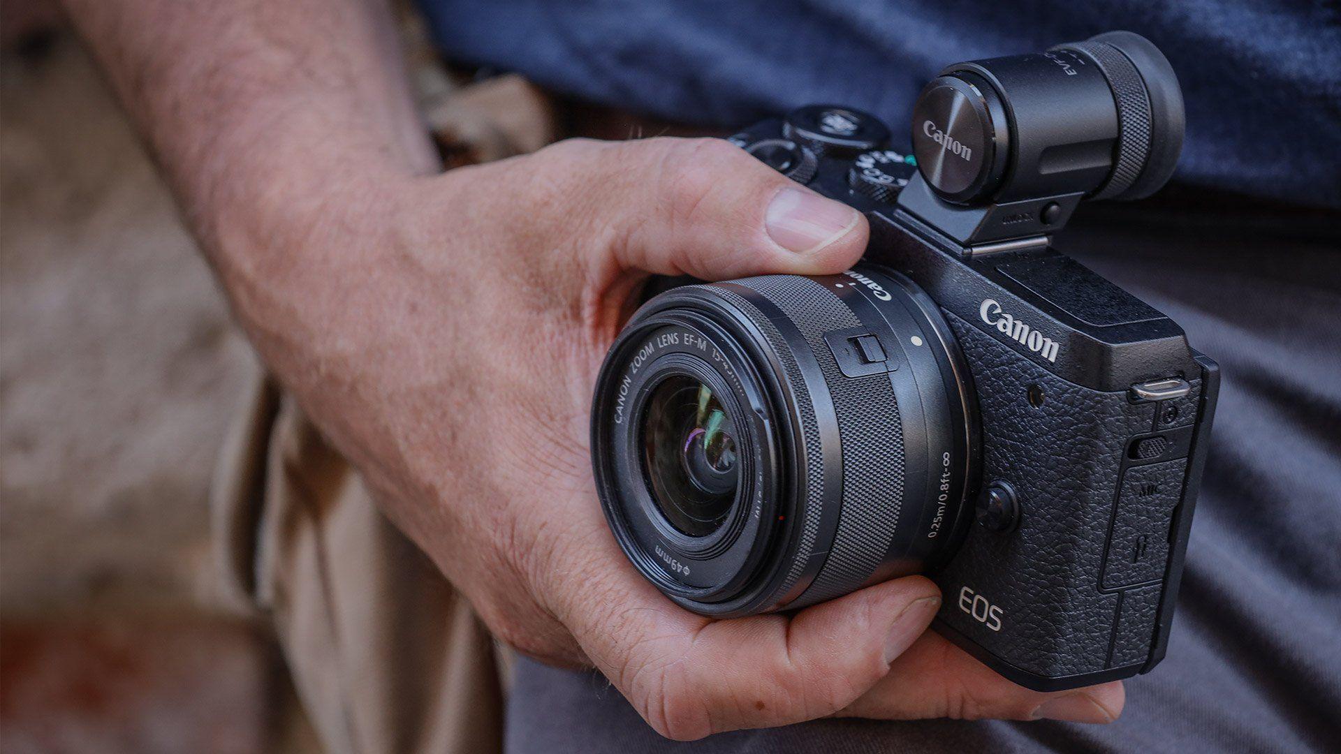 EOS M6 Mark II portability